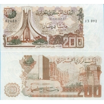 Алжир 200 динар 1983 г.