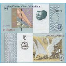 Ангола 5 кванза 2012 (2017) год.
