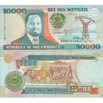 Мозамбик 10000 метикал 1991 г.