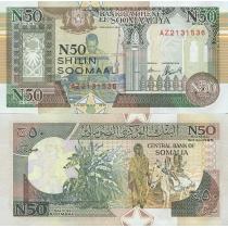 Сомали 50 шиллингов 1991 год.