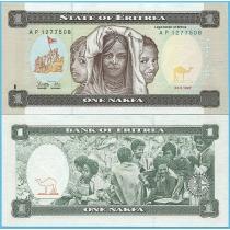 Эритрея 1 накфа 1997 год.