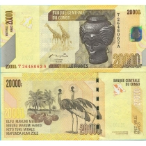 Конго 20000 франков 2006 г.