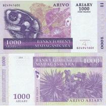 Мадагаскар 1000 ариари 2004 г.