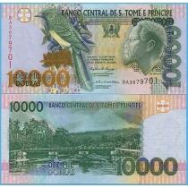 Сан Томе и Принсипи 10000 добра 2004 год.
