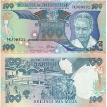 Танзания 100 шиллингов 1986 г.