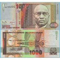 Кабо Верде 1000 эскудо 1989 год.