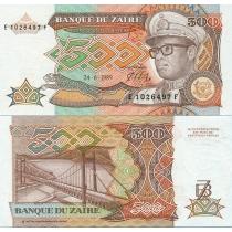 Заир 500 заир 1989 г.