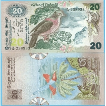 Шри Ланка 20 рупий 1979 год.