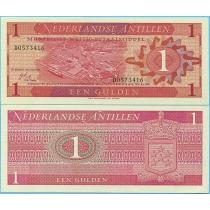 Нидерландские Антилы 1 гульден 1970 год.