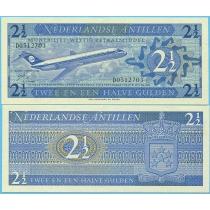 Нидерландские Антилы 2,5 гульдена 1970 год.