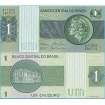 Бразилия 1 крузейро 1980 год