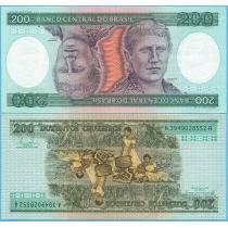 Бразилия 200 крузейро 1984 год.