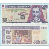 Гватемала 5 кетцаль 2006 год.