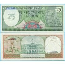 Суринам 25 гульденов 1985 год.