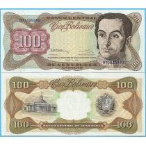 Венесуэла 100 боливар 1992 год.