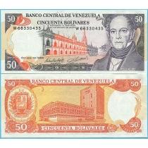 Венесуэла 50 боливар 1998 год.