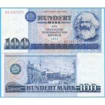 ГДР 100 марок 1975 год.