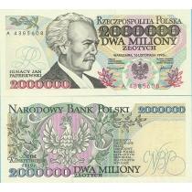 Польша 2 000 000 злотых 1993 г.