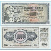 Югославия 1.000 динар 1974 год