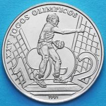 Гвинея-Бисау 2000 песо 1991 год. Олимпиада. Гандбол.
