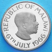 Малави 1 крона 1966 год. День Республики - 6 июля 1966.