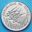Монета Чада 100 франков 1988 год.