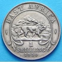 Британская Восточная Африка 1 шиллинг 1950 год.