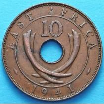 Британская Восточная Африка 10 центов 1941-1945 год.