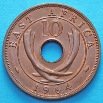 Британская Восточная Африка 10 центов 1964 год