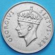 Монета Британской Восточной Африки 1 шиллинг 1952 год.