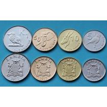 Замбия набор 4 монеты 2012 г.