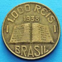Бразилия 1000 рейс 1938 год. Жозе де Анчиета.