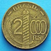 Бразилия 2000 рейс 1938 год. Герцог Кашиас.