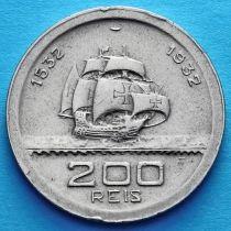 Бразилия 200 рейс 1932 год. 400 лет колонизации Бразилии.