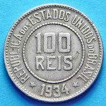 Бразилия 100 рейс 1934 год.