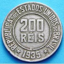 Бразилия 200 рейс 1929-1935 год.