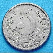 Колумбия 5 сентаво 1886 год. №3