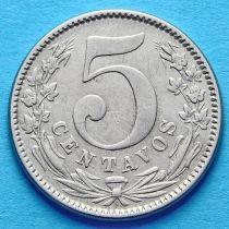 Колумбия 5 сентаво 1886 год. №2