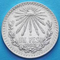 Мексика 1 песо 1923 год. Серебро.