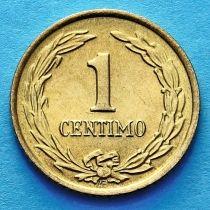 Парагвай 1 сентимо 1950 год.