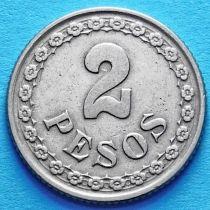 Парагвай 2 песо 1925 год.