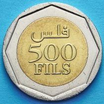 Бахрейн 500 филс 2002 год. Хамад ибн Иса.