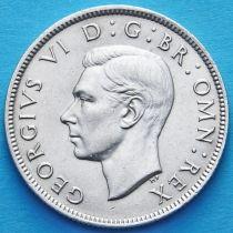 Великобритания 2 шиллинга 1943 год. Серебро