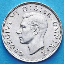 Великобритания 2 шиллинга 1946 год. Серебро