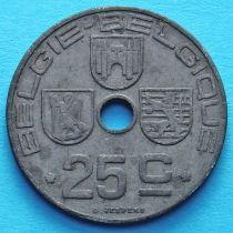 Лот 10 монет Бельгии 25 сантим 1942-1946 год. BELGIE - BELGIQUE