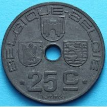 Бельгия 25 сантим 1942-1946 год. BELGIQUE - BELGIE.