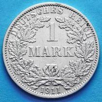 Германия 1 марка 1911 год. Серебро А.