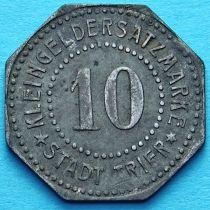 Германия 10 пфеннигов 1917-1920. Нотгельд Трир.