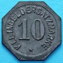 Германия 10 пфеннигов 1917 год. Нотгельд Майнц.