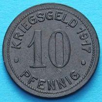 Германия 10 пфеннигов 1917 год. Нотгельд Ботроп.